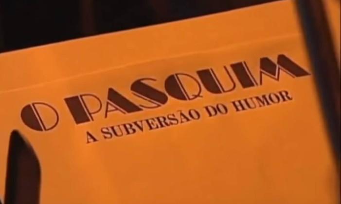 Cena do doc 'O Pasquim: a subversão do humor' Foto: Reprodução
