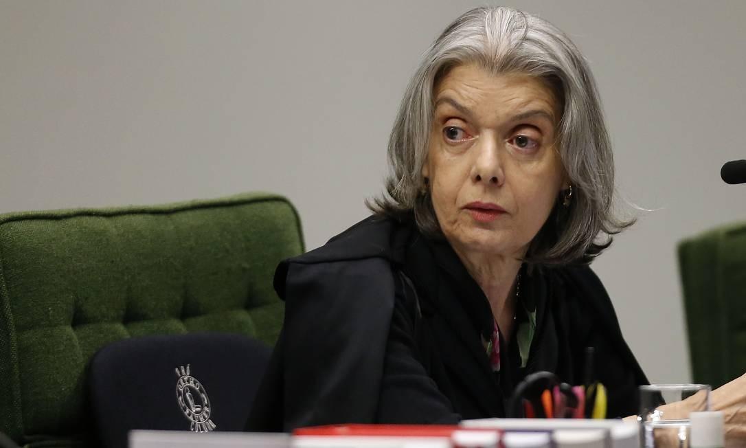 A ministra do STF Carmén Lúcia Foto: Jorge William / Agência O Globo