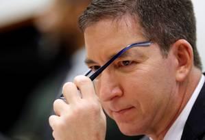 """Glenn Greenwald é o jornalista responsável pelo """"The Intercept Brasil"""" Foto: ADRIANO MACHADO / REUTERS"""