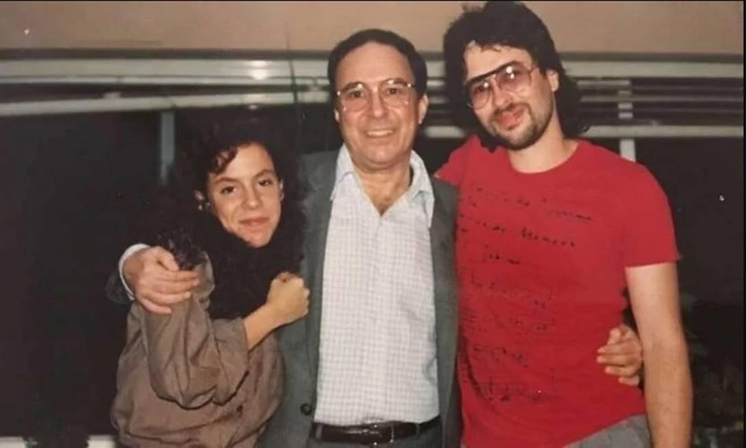 Bebel Gilberto, João Gilberto e João Marcelo Gilberto nos anos 1980 Foto: Arquivo pessoal de João Marcelo Gilberto
