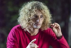 Rodrigo Santoro intepreta o personagem Louco em 'Turma da Mônica - Laços' Foto: ALFREDO ALVES / Divulgação