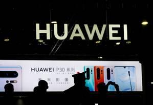 A Huawei está proibida de comprar serviços e componentes de empresas americanas após decisão do Departamento de Comércio americano Foto: Aly Song / REUTERS