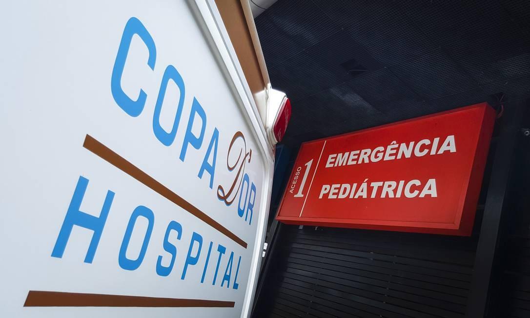 EC Rio de Janeiro (RJ) 23/10/2016 - Marcas Cariocas. Hospitais Rede DOr. Foto: Leo Martins / Agencia O Globo Foto: Leo Martins / Agência O Globo