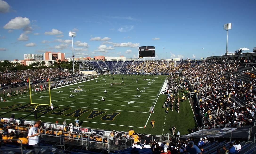 A renovação do espaço, que aconteceu em 2007, custou US$ 54 milhões. O estádio tem capacidade de receber até 20 mil espectadores Foto: Marc Serota / Getty Images