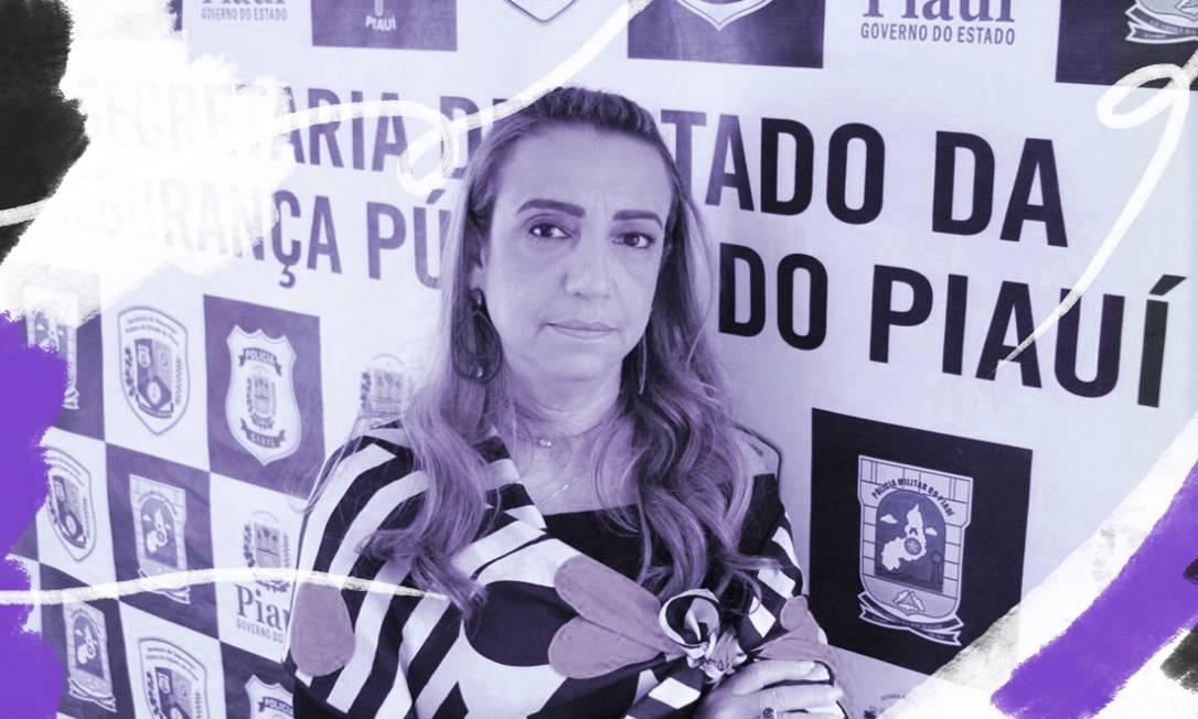 Eugênia Villa, de 55 anos, épioneirano enfrentamento à violência contra as mulheres no Brasil Foto: Arte sobre foto de Otávio Neto/SSP-PI