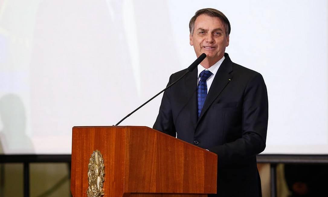 O presidente Jair Bolsonaro 24/06/2019 Foto: Divulgação
