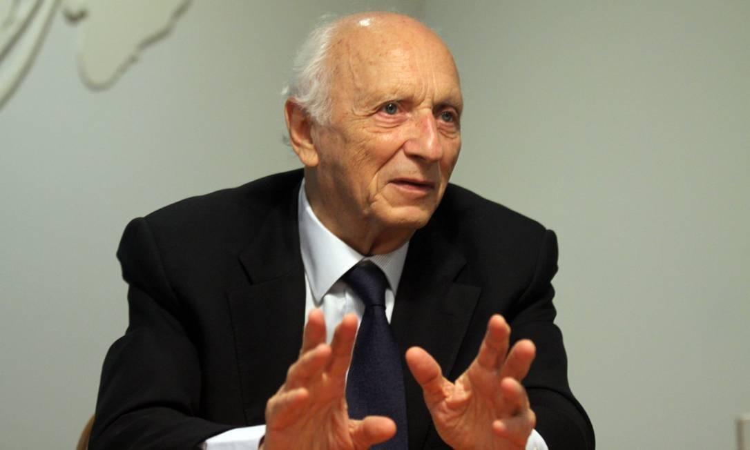 Itamaraty vetou livro com prefácio do ex-embaixador do Brasil nos EUA, Rubens Ricupero Foto: Paulo Nicolella / Agência O Globo