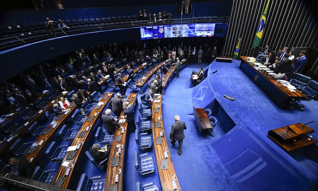 Plenário do Senado Federal durante sessão deliberativa ordinária 26/06/2019 Foto: Marcos Oliveira/Agência Senado
