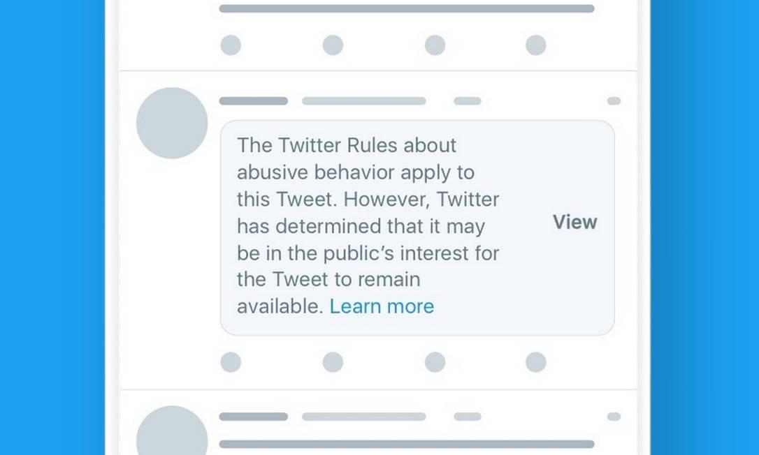 Twitter muda regra e pode punir contas de presidentes, como Trump e Bolsonaro