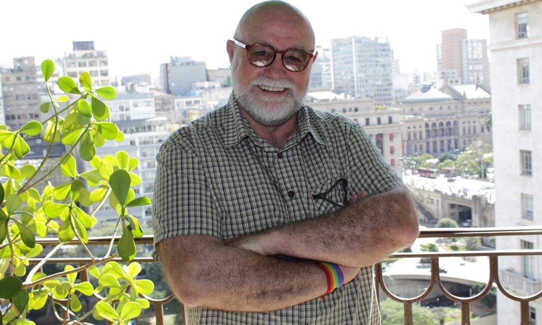O espanhol Federico Armenteros é presidente da fundação que criou o primeiro asilo público para LGBTs no mundo, em Madri Foto: Divulgação/SMDHC/Leonardo Hirai