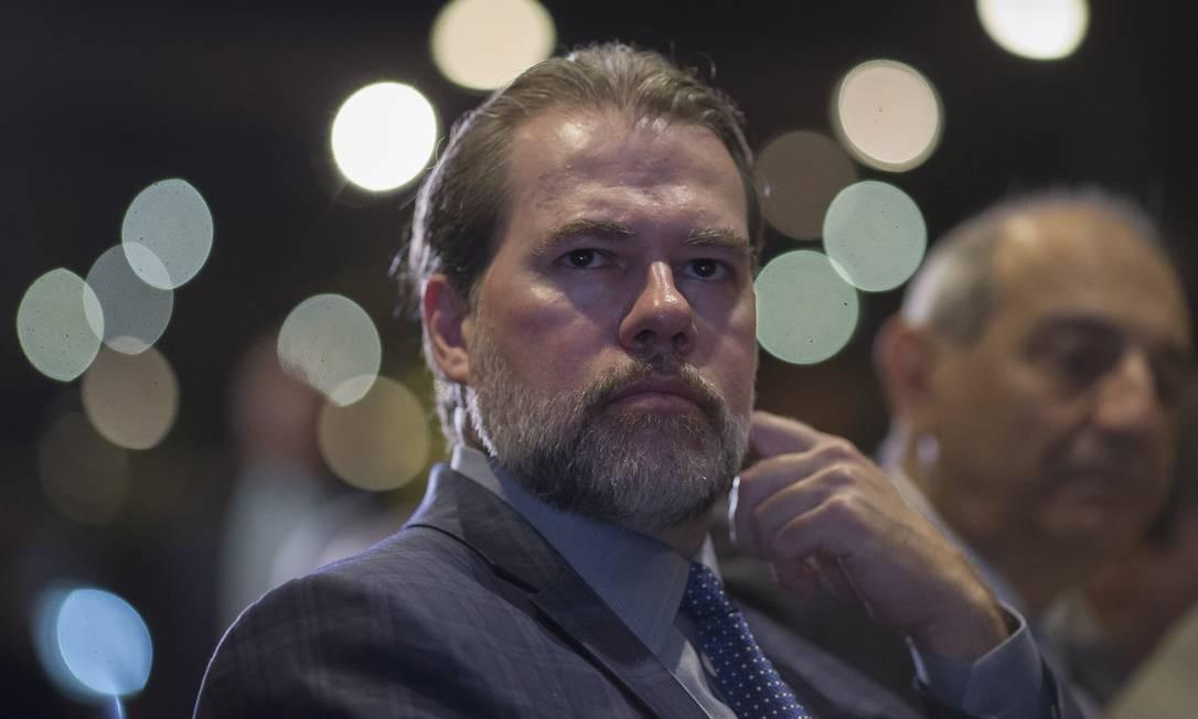 Ministro Dias Toffoli, presidente do CNJ Foto: Edilson Dantas 03/05/2019 / Agência O Globo