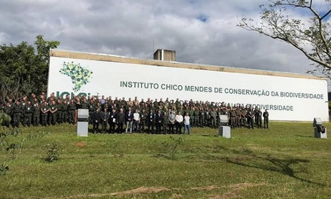 Comandantes participam do primeiro Encontro Nacional das Polícias Militares Ambientais do Brasil, realizado em São Paulo Foto: Divulgação