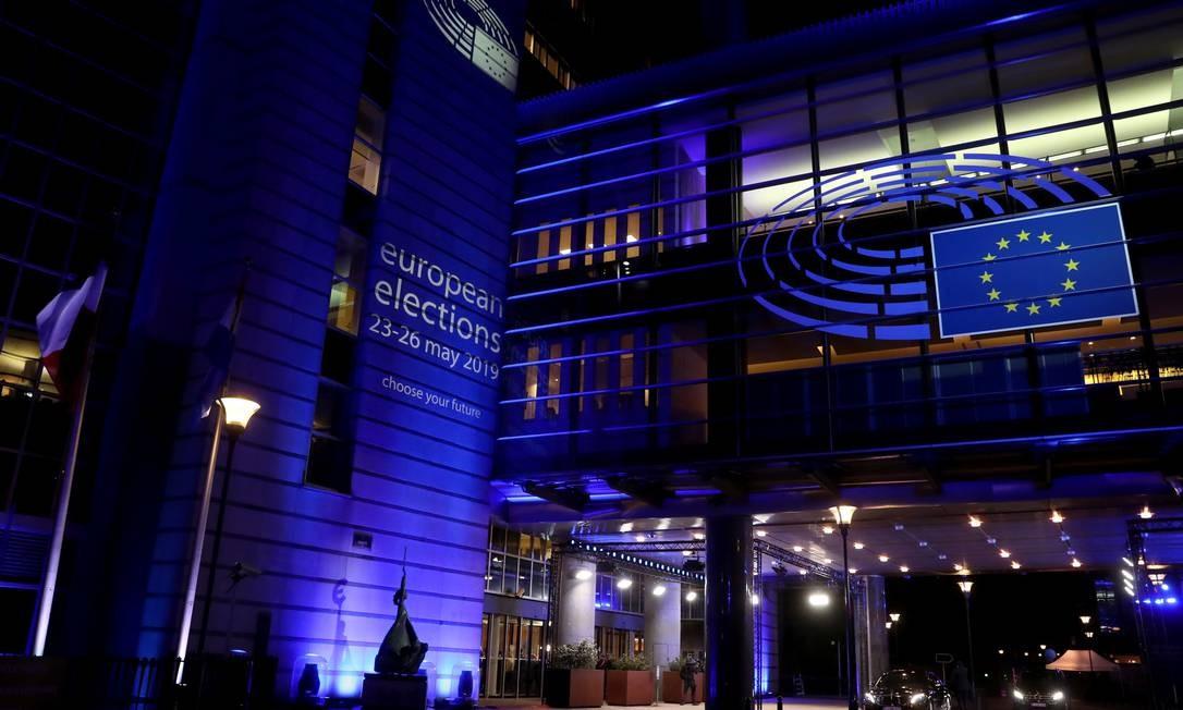 O anúncio deve ser feito hoje, em Bruxelas, sede do Parlamento Europeu Foto: Yves Herman / REUTERS