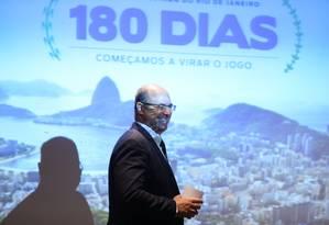 Witzel diz que pode judicializar o Regime de Recuperação fiscal caso não haja renegociação com a União Foto: Pedro Teixeira / Agência O Globo