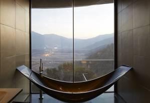 VIK Master Suite, no hotel da Viña Vik, no Chile Foto: Divulgação