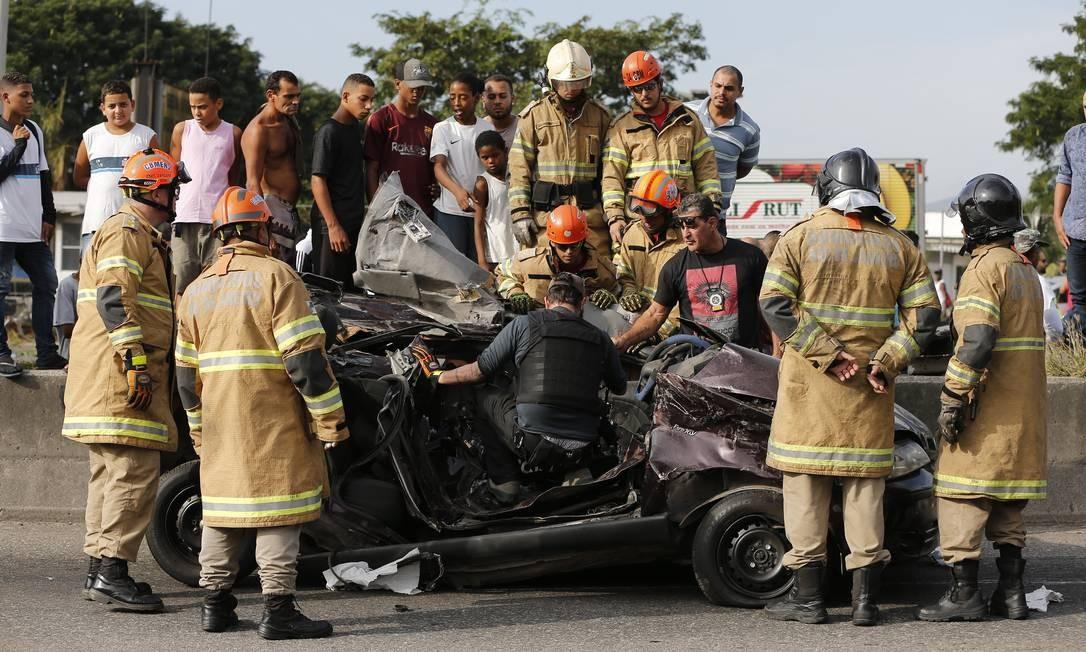 Quase 40% dos mortos no trânsito têm até 29 anos Foto: Pablo Jacob / Pablo Jacob