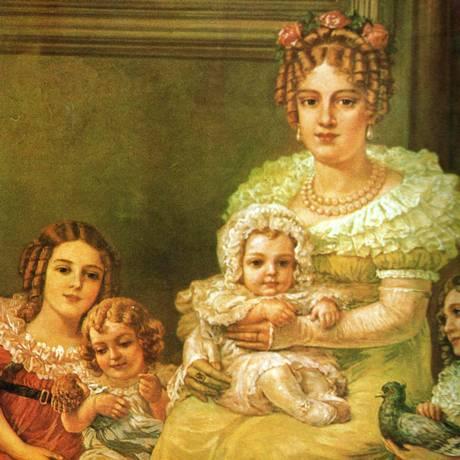 A Imperatriz Leopoldina passou para a História como mulher traída, mas teve participação importante nos eventos que culminaram na independência do Brasil Foto: Reprodução