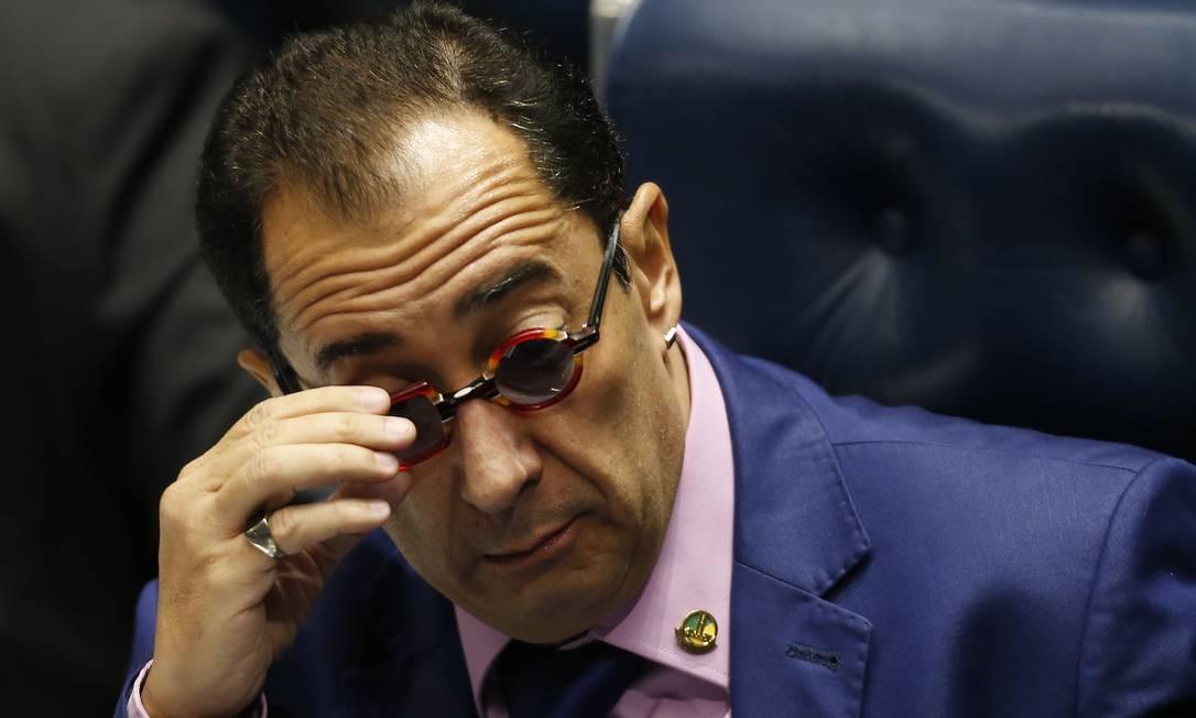 O senador Jorge Kajuru Foto: Jorge William/Agência O Globo