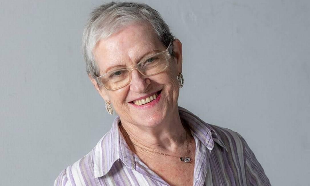A desenvolvedora de games Tereza Brocardo, que se interessou pela área após se aposentar Foto: Arquivo pessoal