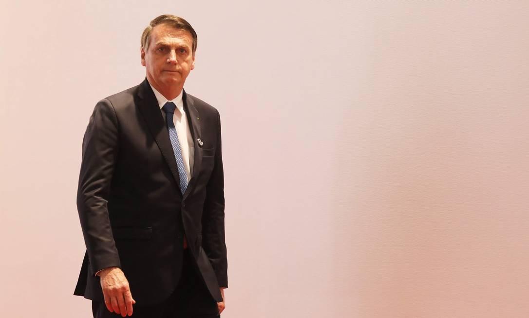 Jair Bolsonaro Foto: LUDOVIC MARIN / AFP