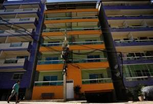Prefeitura quer demolir seis prédios na Muzema Foto: Pablo Jacob / Agência O Globo