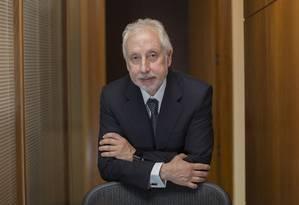 Pérsio Arida, um dos criadores do Plano Real e ex-presidente do Banco Central (BC) e do BNDES Foto: Edilson Dantas / Agência O Globo