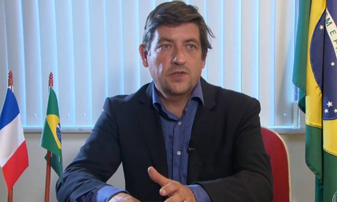O procurador francês Jean Yves Lourgouilloux Foto: Reprodução