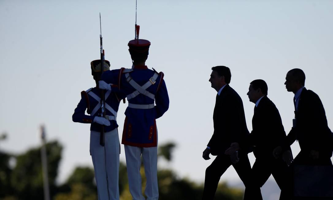Jair Bolsonaro completa seis meses na Presidência Foto: Adriano Machado / Reuters
