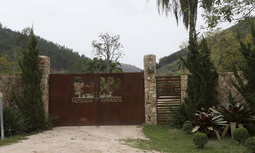 A fazenda de Carlos Miranda vale R$ 3 milhões e será leiloada Foto: Domingos Peixoto / Domingos Peixoto