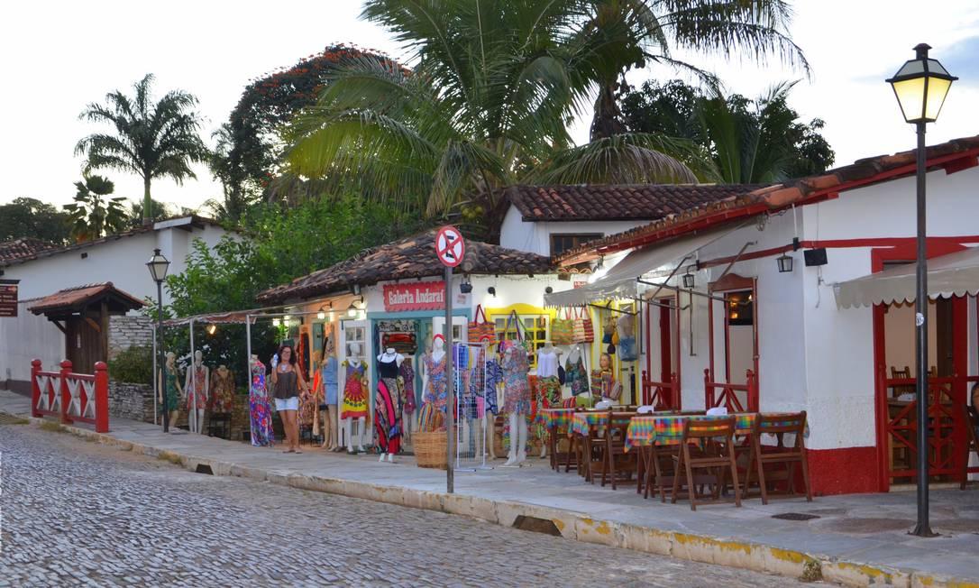 Em 2001 a cidade de Pirenópolis,, Goiás, tornou-se Patrimônio Histórico Mundial Foto: Lúcia Costa / Agência O Globo