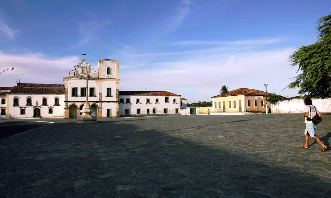 Em 2010, a Praça de São Francisco, na Cidade Histórica de São Cristóvão, Sergipe, tornou-se Pagtrimônio Histórico Mundial Foto: Marcelo Piu / Agência O Globo