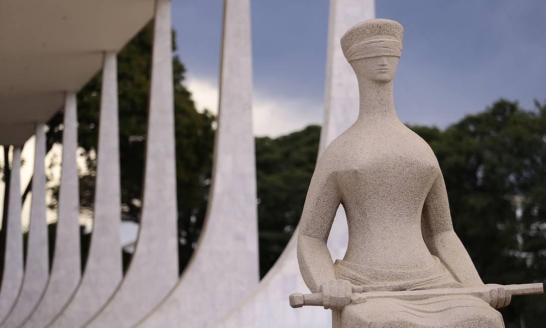 Brasília (DF) também integra a lista de Patrimônio Mundial da Humanidade da Unesco desde 1987. Entre sos prédios que integram o conjunto urbanístico-arquitetônico do Plano Piloto está a Praça dos Três Poderes, onde fica o Supremo Tribunal Federal (STF) Foto: Jorge William / Agência O Globo