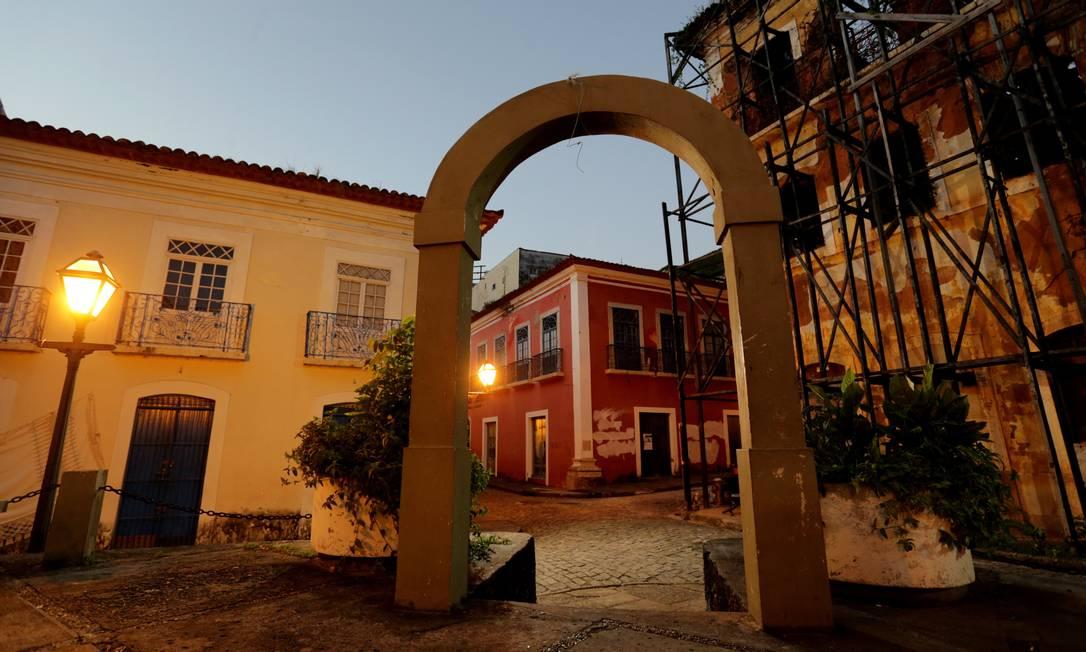 O Centro Histórico de São Luis do Maranhão (MA) se tornou Patrimônio Mundial da Humanidade em 1997. A cidade foi fundada pelos franceses em 1612 Foto: Marcelo Theobald / Agência O Globo