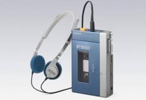 Um exemplar do Walkman Sony TPS-L2, lançado em 1979 Foto: Reprodução