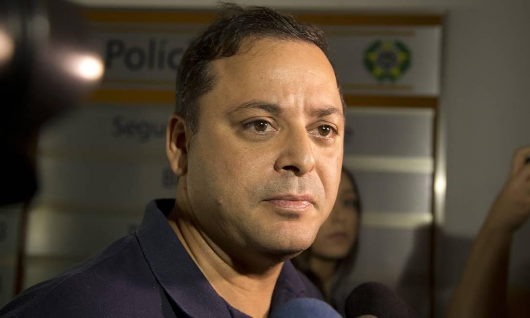 O prefeito de Niterói, Rodrigo Neves, foi preso na operação Alameda, mais um desdobramento da Lava-Jato no Rio, no dia 10 de dezembro de 2018 Foto: Márcia Foletto / Agência O Globo