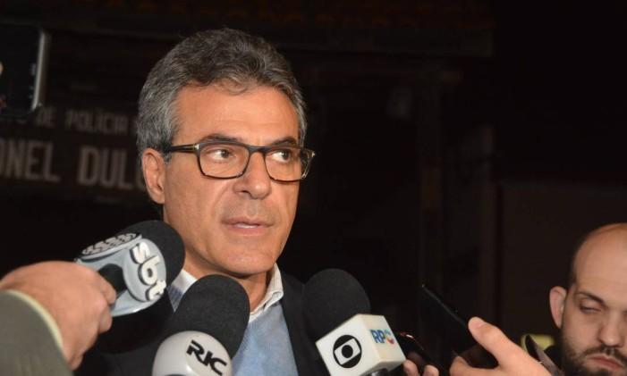 O ex-governador do Paraná, Beto Richa Foto: Código 19 / Agência O Globo
