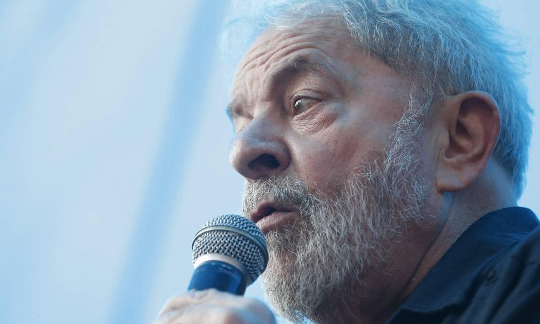 Lula continuará réu por lavagem de dinheiro Foto: Marcos Alves / Agência O Globo