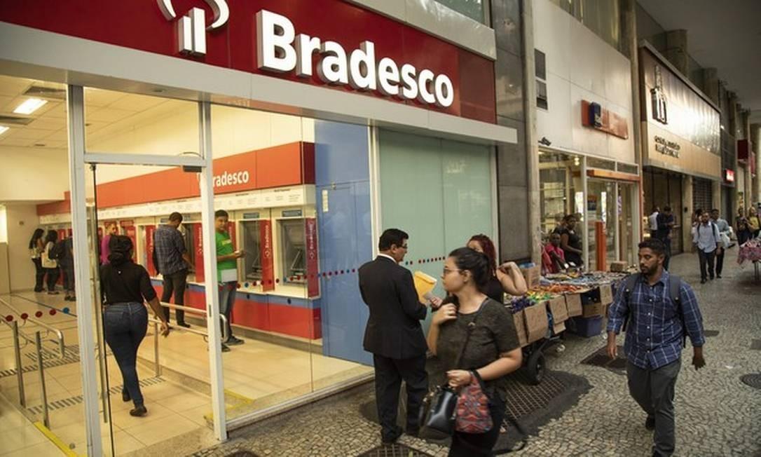 Bradesco Foto: Agência O Globo