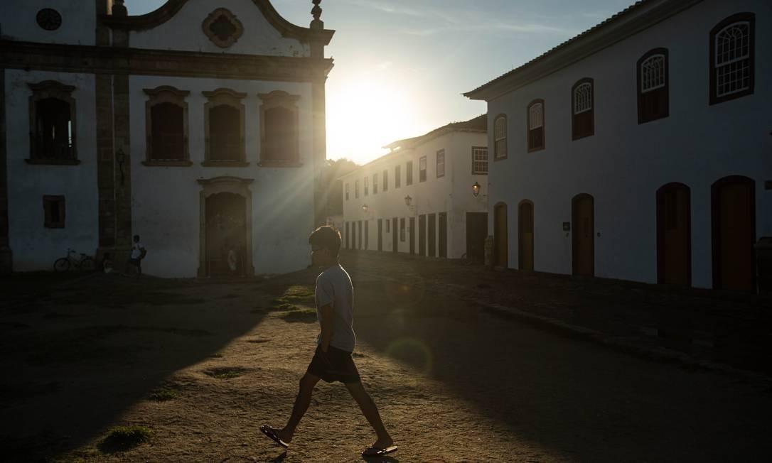 Cidade da Costa Verde fluminense se tornou Patrimônio Mundial misto da Unesco em votação que aconteceu no Azerbaijão Foto: Brenno Carvalho / Agência O Globo