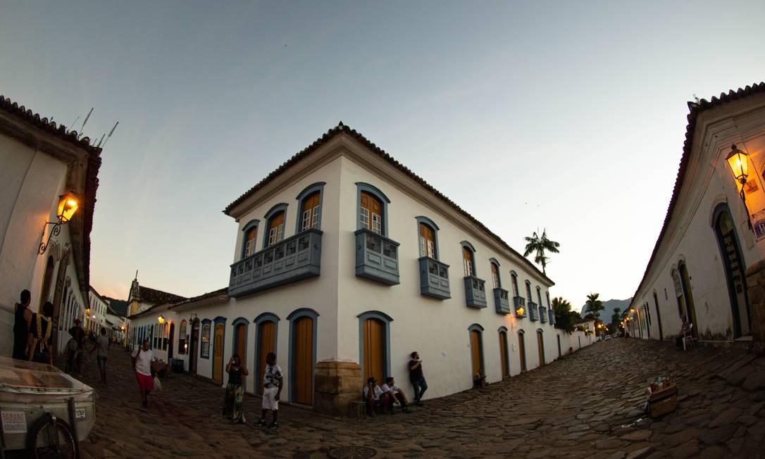 O Centro Histórico faz parte do dossiê da atual candidatura a Patrimônio Mundial Foto: Brenno Carvalho / Agência O Globo