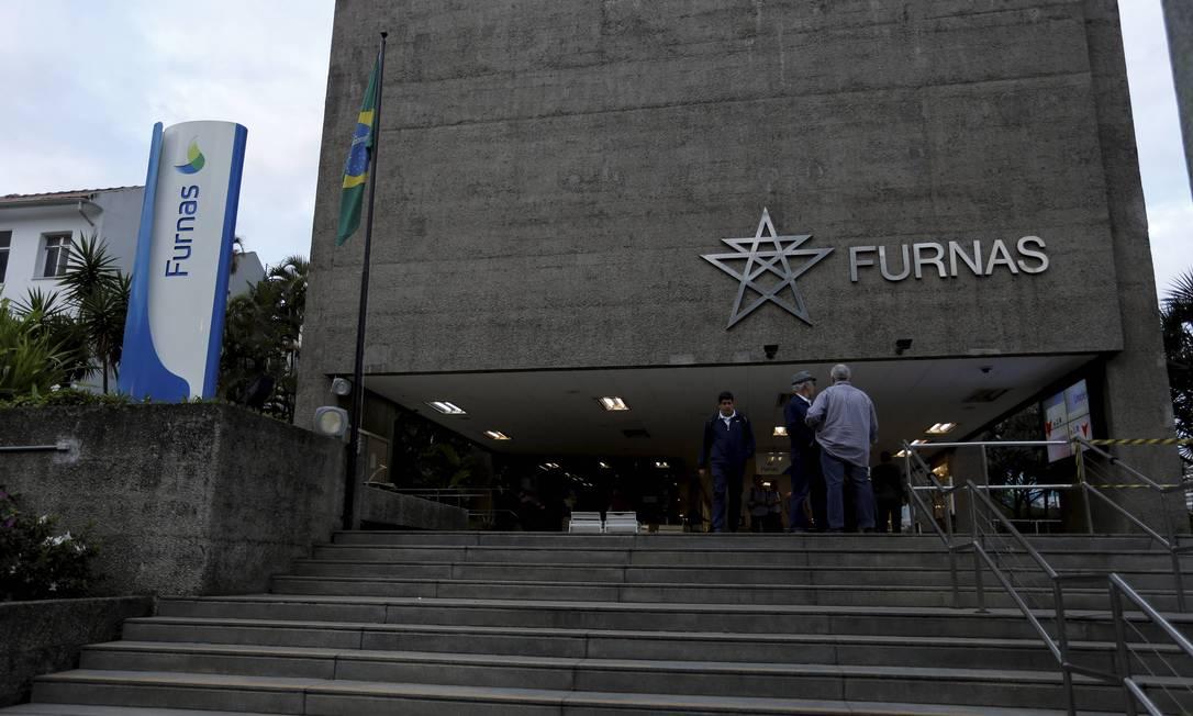 Prédio de Furnas, em Botafogo Foto: Domingos Peixoto / Agência O Globo