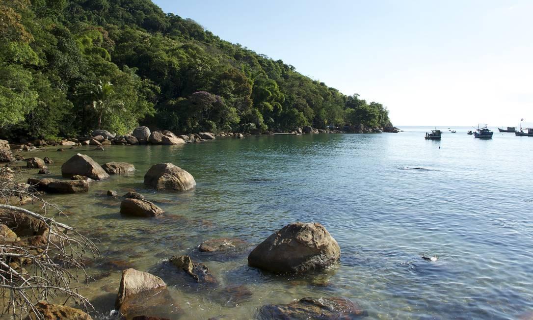 A Área de Proteção Ambiental (APA) de Cairuçu com 63 ilhas, tem entre as atrações a Praia do Sono, Trindade e o Saco de Mamanguá, além da cultura caiçara, quilombola e indígena Foto: Tiago Almeida / EBC