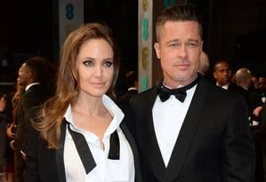 Angelina Jolie e Brad Pitt Foto: David M. Benett / Getty Images