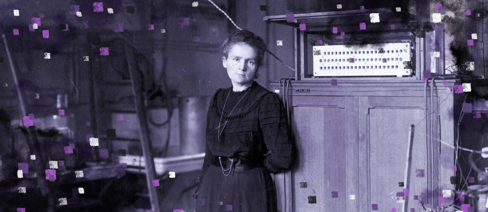 Marie Curie em seu laboratório em Paris, em 1912 Foto: Domínio Público / Wikimedia Commons