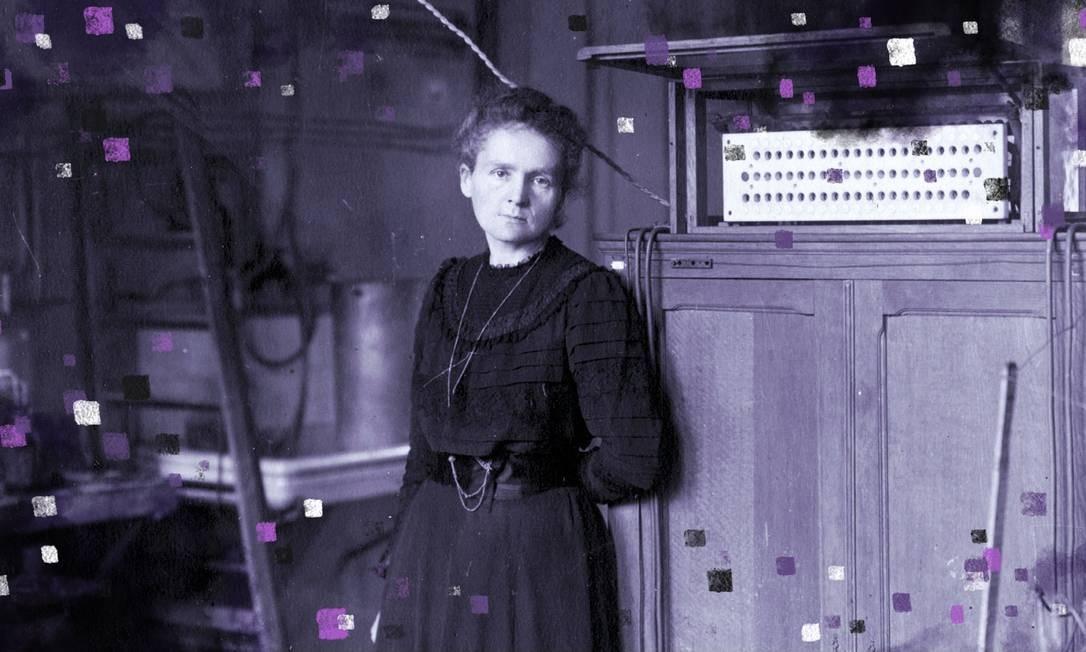 Marie Curie, cientista e física que conduziu pesquisas pioneiras em todo o mundo no ramo da radioatividade Foto: Domínio Público / Wikimedia Commons