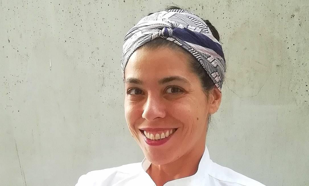 Rebecca Lockwood cozinhou para Madonna em Portugal, em 2018 Foto: Roberto Cabot / Divulgação
