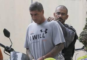 Ronnie Lessa, acusado de matar Marielle Franco e Anderson Gomes Foto: Pablo Jacob / Agência O GLOBO