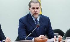 O presidente do Supremo Tribunal Federal, ministro Dias Toffoli Foto: Will Shutter / Câmara dos Deputados