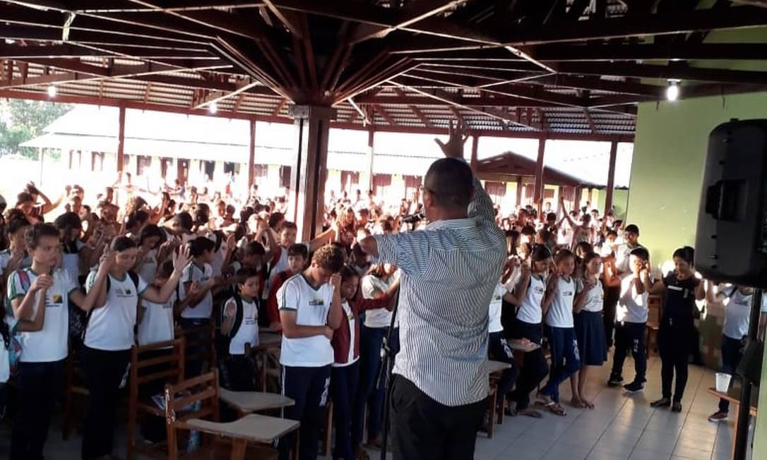 O religioso Francisco Ferreira da Mota diz ter ajudado quase 200 criminosos a deixarem o mundo do tráfico de drogas e armas Foto: Arquivo pessoal