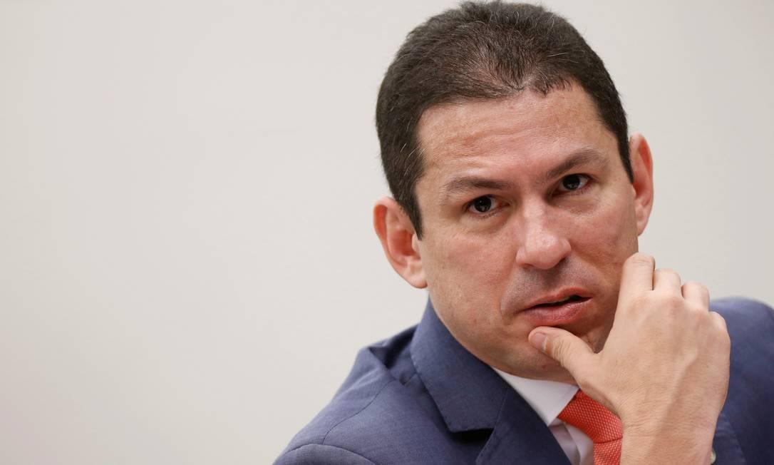 O presidente da comissão da reforma da Previdência, Marcelo Ramos (PL-AM) Foto: Adriano Machado / Reuters